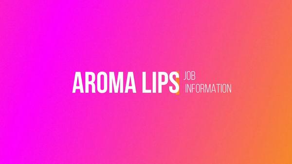 AROMA LIPSの求人動画