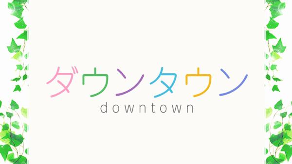 ダウンタウンの求人動画