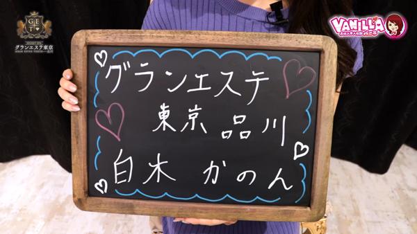グランエステ東京 品川に在籍する女の子のお仕事紹介動画