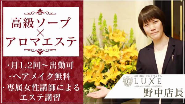 LUXE リュクスのお仕事解説動画